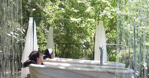 Tratamiento a dúo en el Hotel Balneario de Lanjarón.