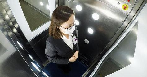 Una de las cabinas de desinfección de CLeanTech.