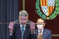 Alcalde Albiol pese al PSC