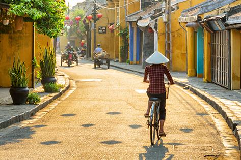 Calle del centro de Hoi An. FOTOS: SHUTTERSTOCK