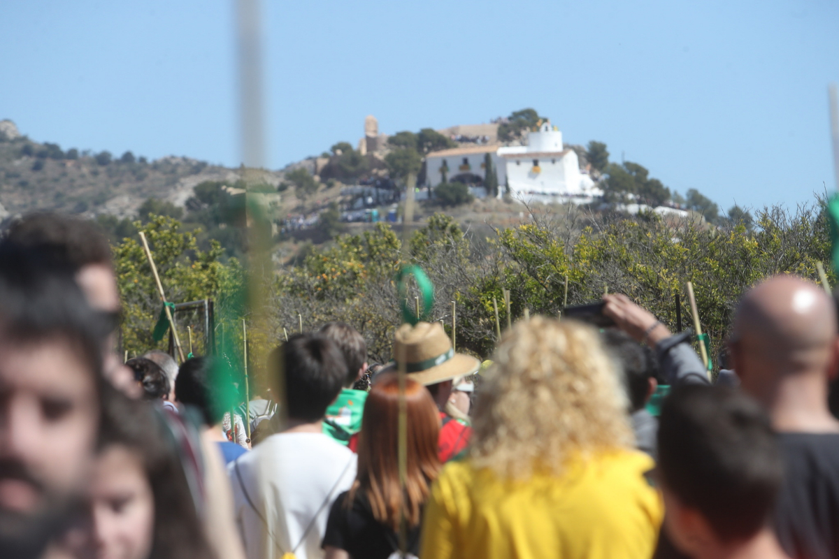 La romeria a la Magdalena es uno de los actos más multitudinarios de las fiestas.