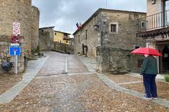 Un vecino de Miranda del Castañar (Salamanca), localidad en la fase 1.