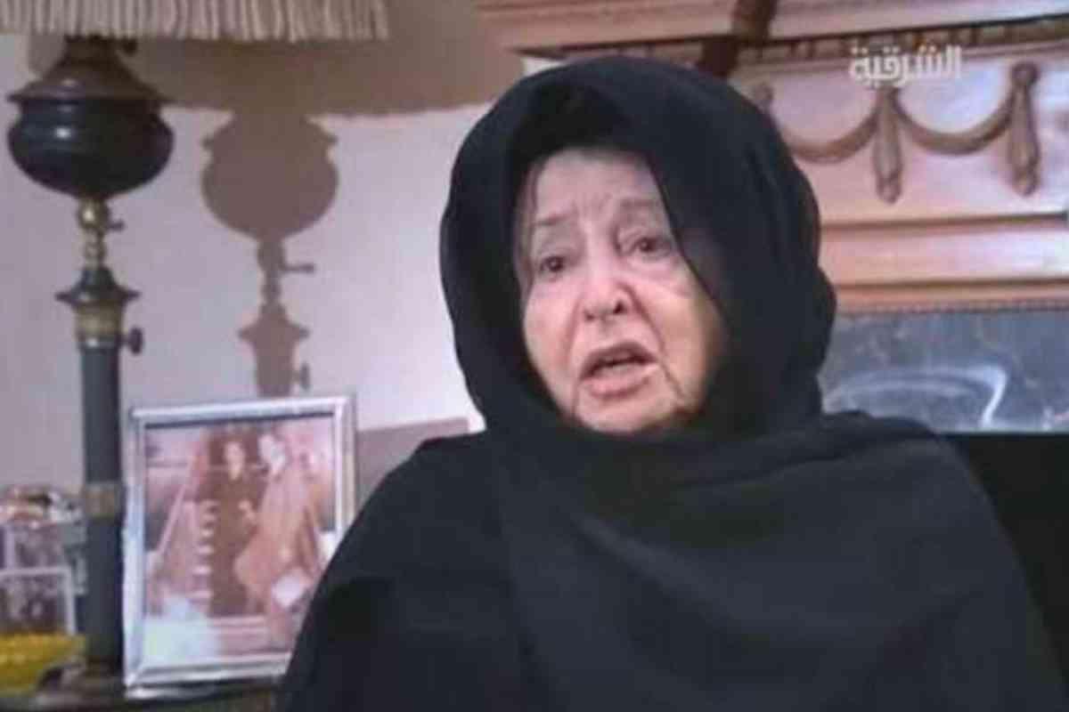 Una de las últimas imágenes de la princesa Badiya bint Ali, en una entrevista en televisión.