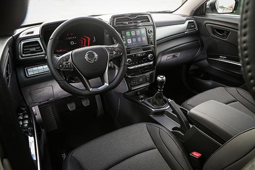 El SsangYong Tívoli mejoró su diseño interior y calidad de acabados.