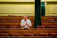 El diputado de Compromís, Joan Baldoví, este miércoles, en el Congreso.