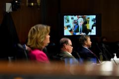 Anthony Fauci, durante su comparecencia ante el Senado de EEUU