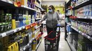 Las compras de alimentación cayeron un 7,5% cuando media España entró en fase 1