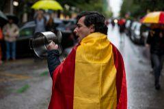 Manifestación en Núñez de Balboa