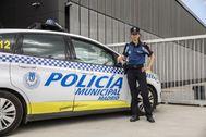 Marta Fernández, intendente de la Policía Municipal responsable de la Unidad de Apoyo y Protección a la Mujer