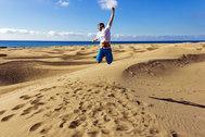 La imagen de las dunas de Maspalomas que no volverás a ver si quieren protegerlas después del estado de alarma