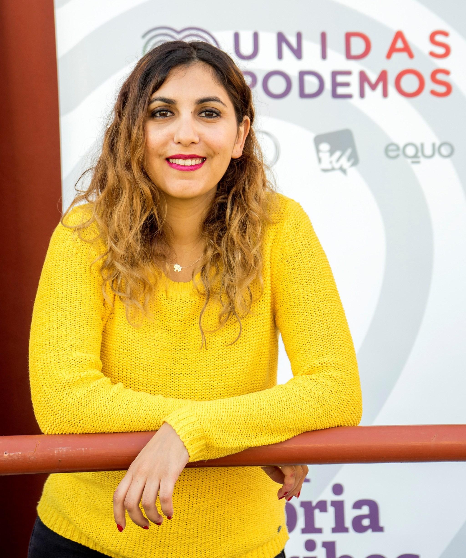 La ex asesora de Podemos Dina Bousselham.
