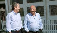 El presidente de Inditex, Pablo Isla, y el fundador y principal accionista, Amancio Ortega.