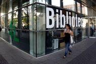 Biblioteca de la Universidad de Valencia.