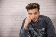 Blas Cantó, representante de España en Eurovisión 2020 con el tema 'Universo'.