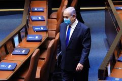 El primer ministro israelí, Benjamin Netanyahu, en la Knesset.