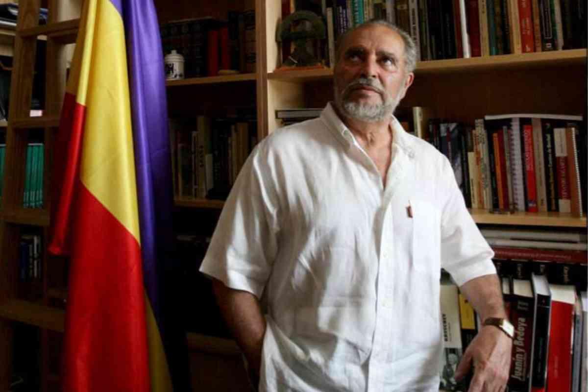 Anguita, en su casa de Córdoba.
