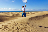 Las imágenes de las dunas de Maspalomas que no volverás a ver