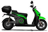El ciclomotor saldrá con una versión para empresas de reparto.