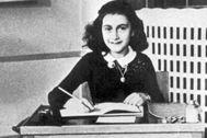 Ana Frank a los 11 años en una foto de archivo.