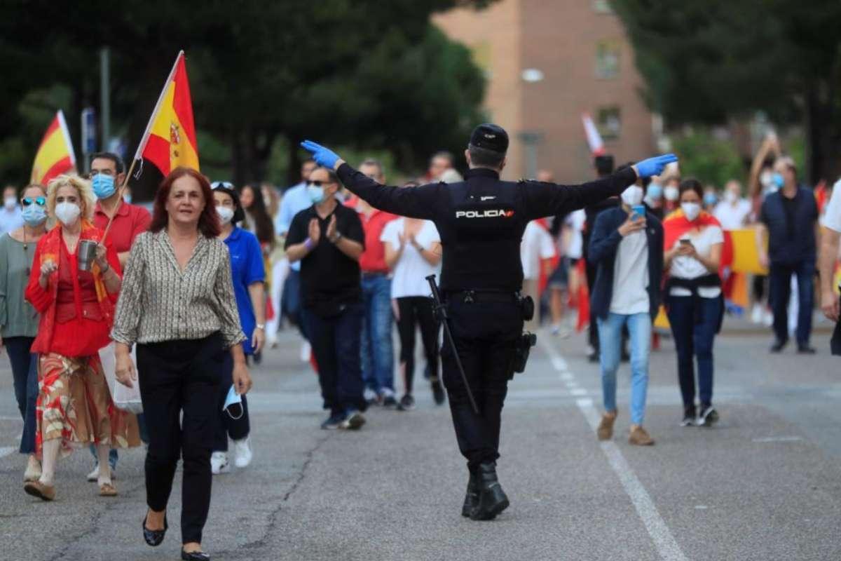 Interior acusa a la Generalitat de desentenderse de su competencia para autorizar o prohibir manifestaciones