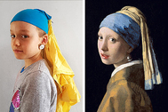EMMI | 8 AÑOS | 'La joven de la perla' | JOHANNES VERMEER