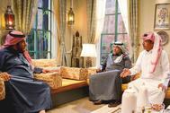 Una escena de la serie 'Salida 7', que relata las reformas que sacuden el reino saudí.
