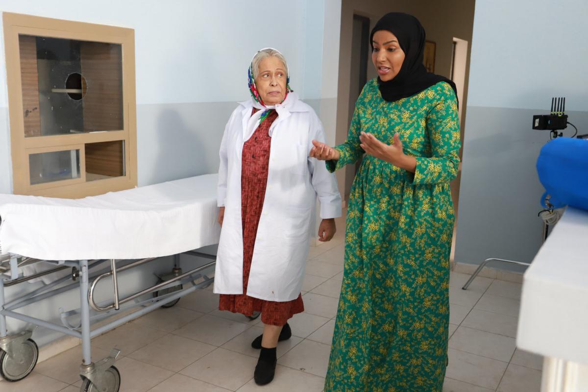 Escena de la serie 'La madre de Aaron', ambientada en el Kuwait de 1948.