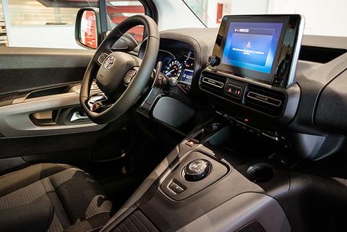 El Toyota Proace City es el primer vehículo made in spain de la marca.