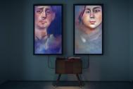 La primera obra de arte generada por inteligencia artificial, de Mario Klingemann.