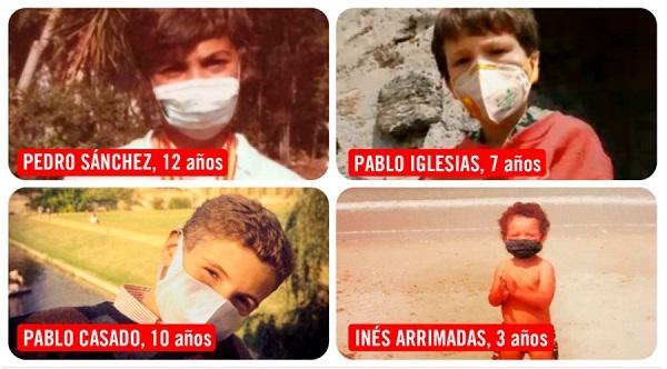 Save The Children  pone la 'mascarilla' a los  políticos de niños  para que protejan a la infancia: uno de cada tres menores caerá en la pobreza