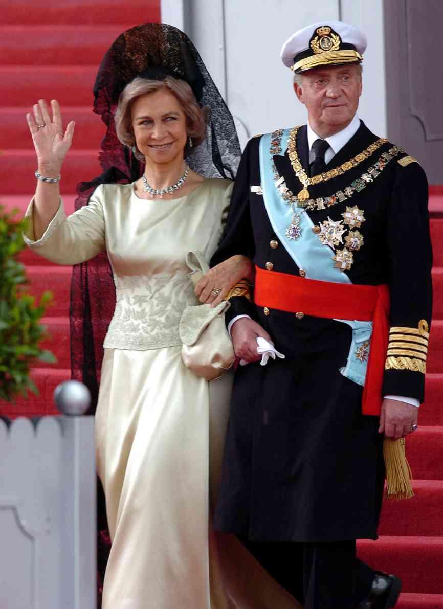 Los Reyes Sofía y Juan Carlos