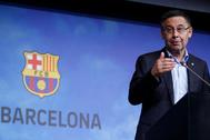 Josep Maria Bartomeu, presidente del Barcelona.