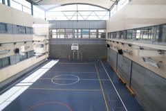 Gimnasio de un colegio de Valdemoro (Madrid).