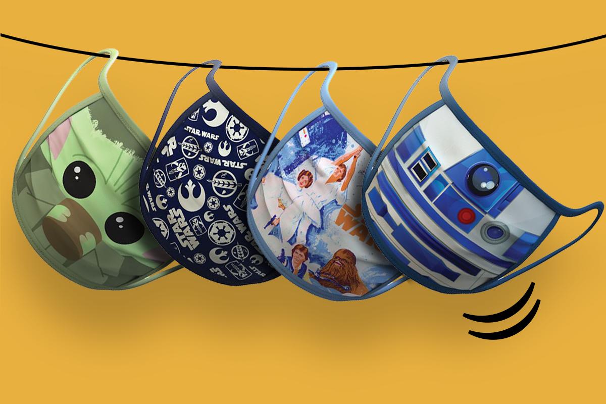 Que la salud te acompañe: llegan las mascarillas solidarias de Star Wars | Lifestyle