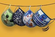 Que la salud te acompañe: llegan las mascarillas solidarias de Star Wars