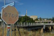 La central nuclear de Garoña cerrada desde 2012 situada en la provincia de Burgos.