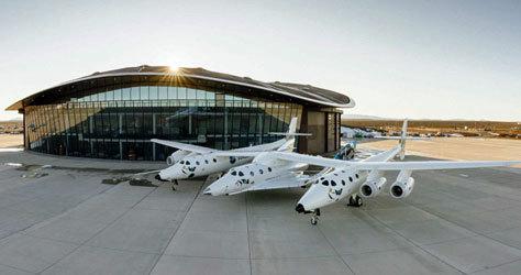 El aeropuerto de Spaceport America diseñado por Norman Foster.