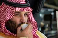 El príncipe heredero saudí, Mohamed bin Salman.