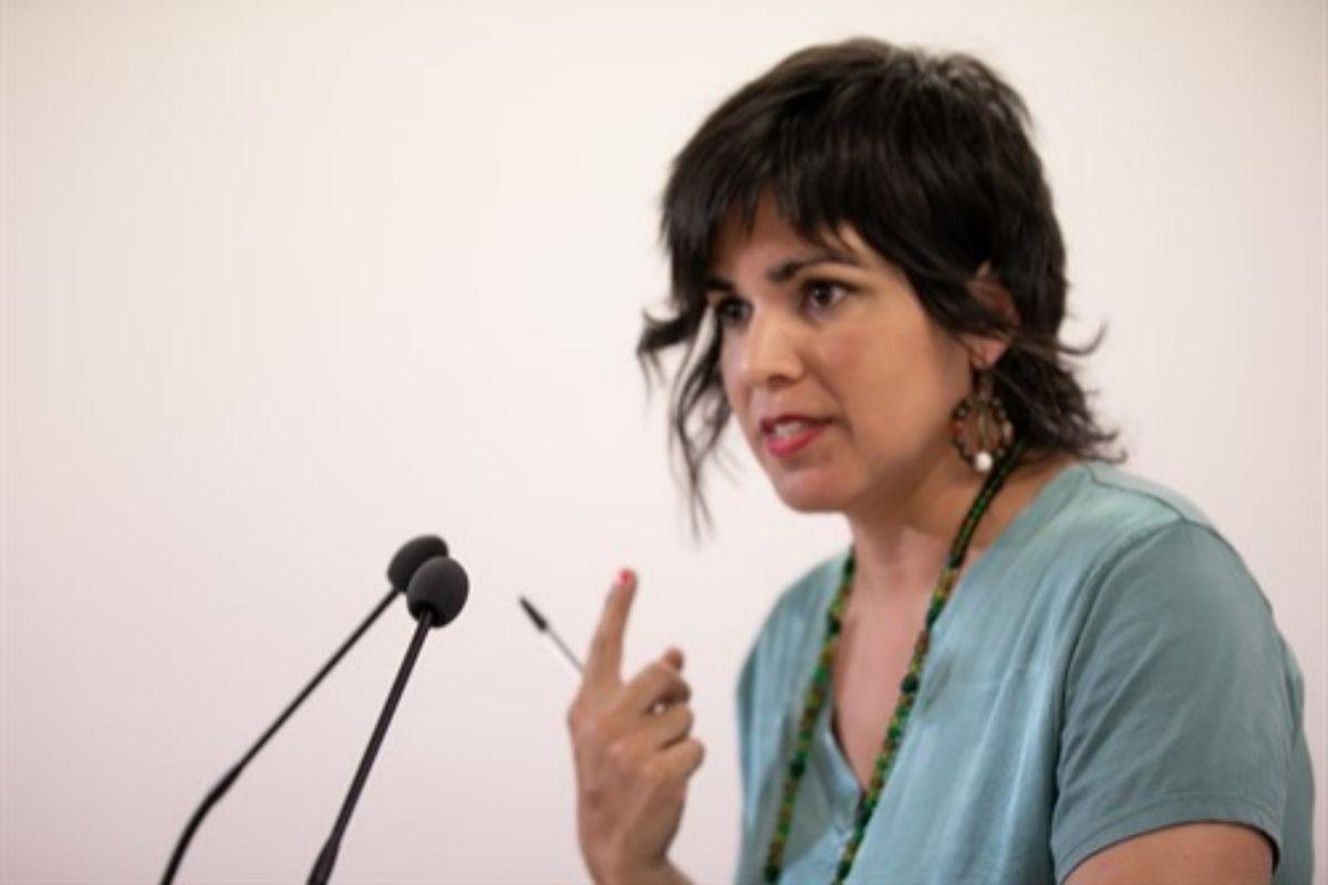La líder de Podemos en Andalucía y de Anticapitalistas, Teresa Rodríguez.