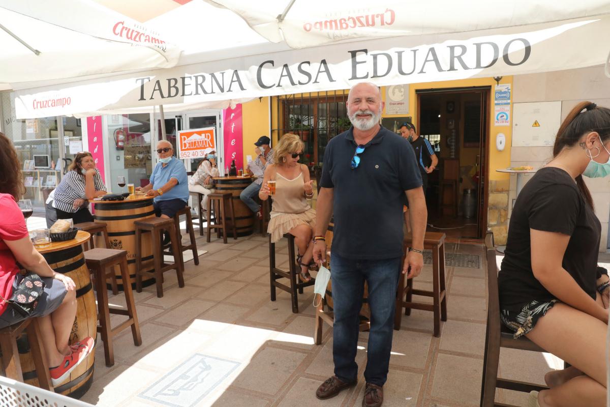 """Nos ha tirado por tierra. ¡Aquí sólo hay turismo!"", dice Eduardo Jurado, dueño de Casa Eduardo."