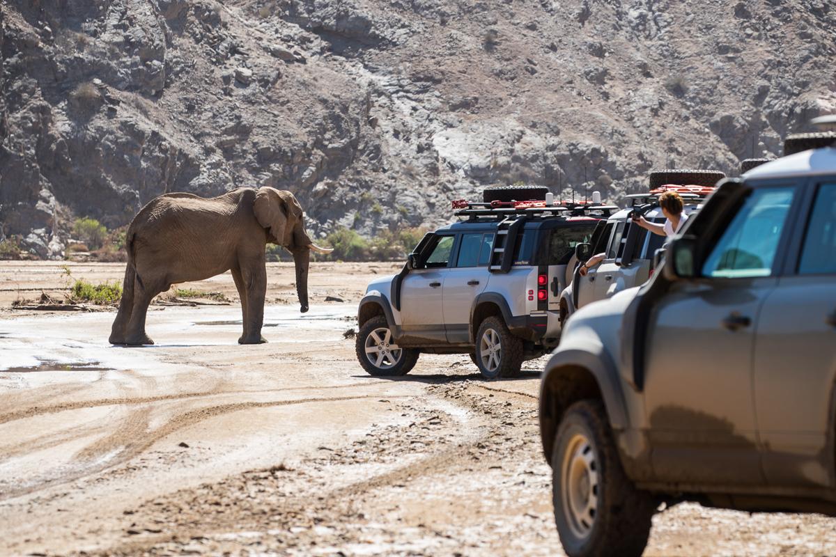 El Land Rover Defender, a la conquista de Namibia
