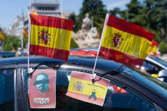 Angel lt;HIT gt;Navarrete lt;/HIT gt; 23/05/2020 Madrid, Comunidad de Madrid Manifestacion en coche convocada por VOX en contra del gobierno