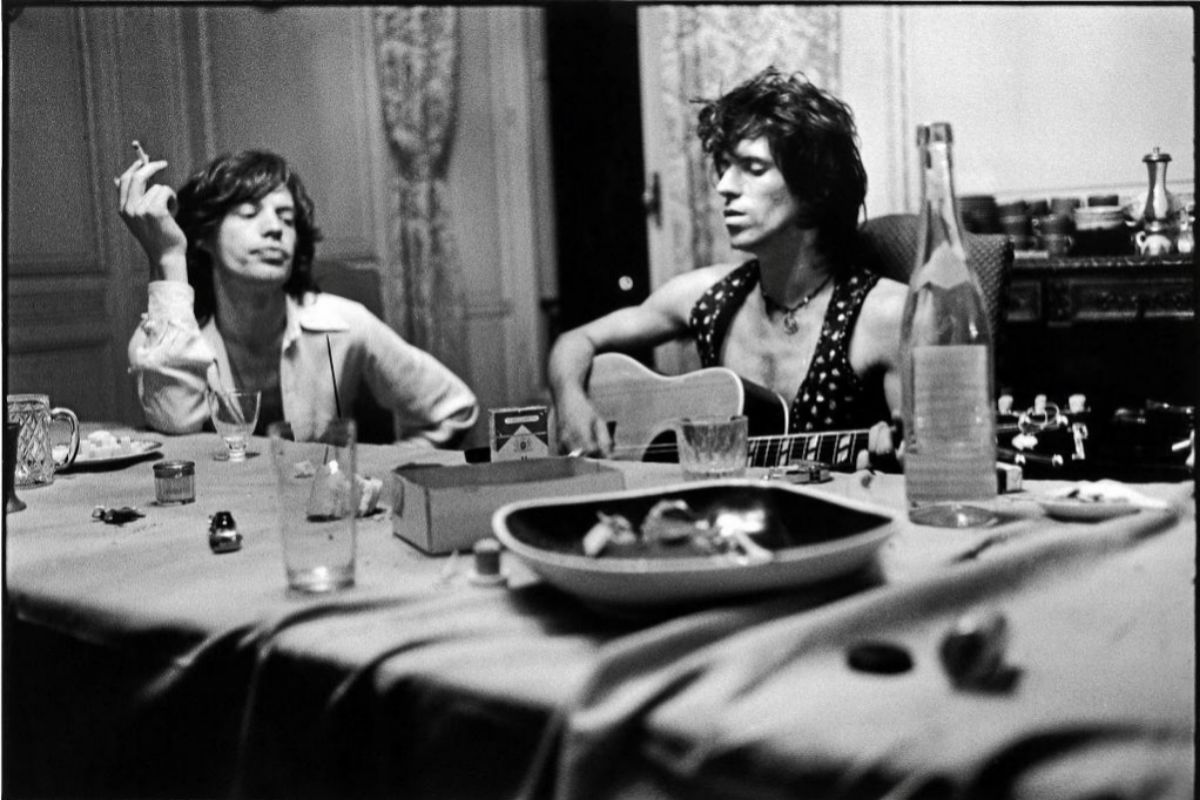 Mike Jagger y Keitth Richards.