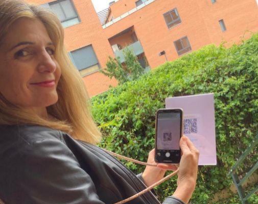 La app de Silvia Fernández sirve para pagar vía móvil.