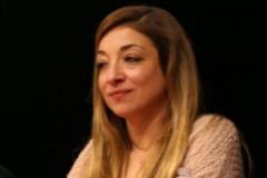La magistrada Amaya Olivas, en una charla.