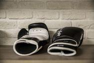 Imagen de archivo de unos guantes de boxeo.