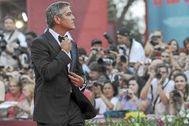George Clooney en una imagen de archivo de la Mostra de 2011.