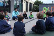 Imagen de una escuela de verano abierta para niños en la provincia de Castellón.