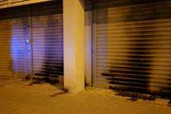 Daños causados en la sede del PSC.