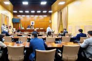 La comisión para la reconstrucción creada en el Parlamento de Andalucía.